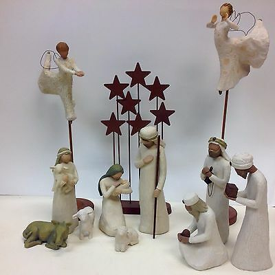 Demdaco Willow Tree Nativity Collection 12 Piece Set