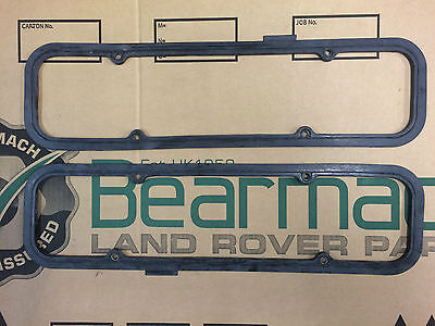 Bearmach Land Rover Defender V8 Pair of Rubber Rocker Cover Gasket x2 LVC10026