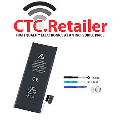New Replacement Internal Battery for iPhone 5, iPhone 5c 5s, 1560mAh Li-ion