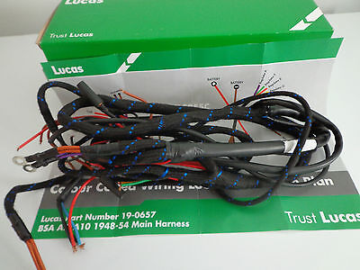 bsa late model a7 a10 wiring harness 1002 wiring loom 37 99 rh picclick co uk