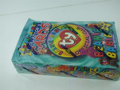 1999 Ty Beanie Babies Collectors cards series 3 2nd ed. Factory Sealed (box 2)