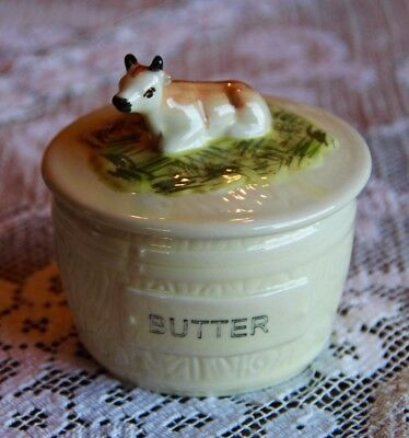 Vintage Reproduction Butter Dish