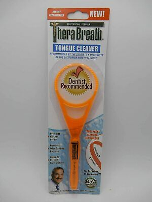 2 PACK Thera Breath Tongue Cleaner 1ct 697029900116DT