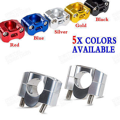 "1-1/8"" Handlebar Mount Clamp Adapter For Honda CB600F/900F Hornet CB1000R 08-10"