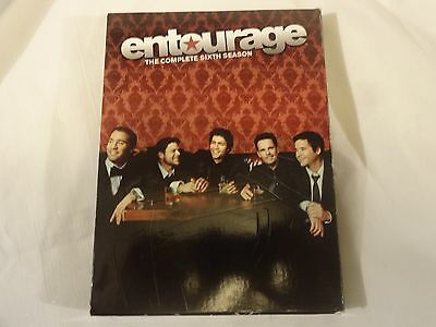 Entourage: The Complete Sixth Season (DVD, 2010, 3-Disc Set) BRAND NEW SEALED