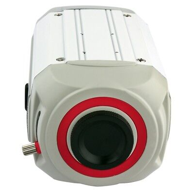 CCD 663 Security License Plate Recognition Box Camera 700TVL Without Lens White