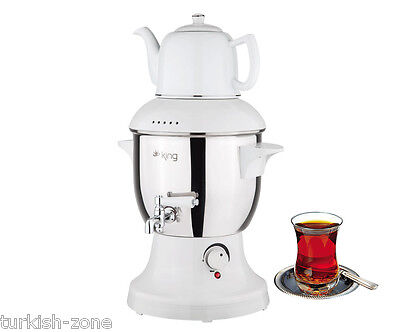 Turkish Electric Teapot Tea Maker Machine Kettle Caydanlik Semaver SAMOVER
