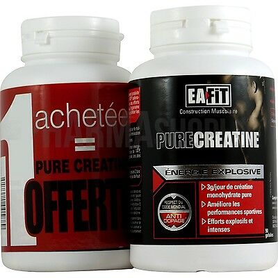 Eafit Pure Créatine Effort Intense Performances Max Lot Promo De 2X 90 Comprimés