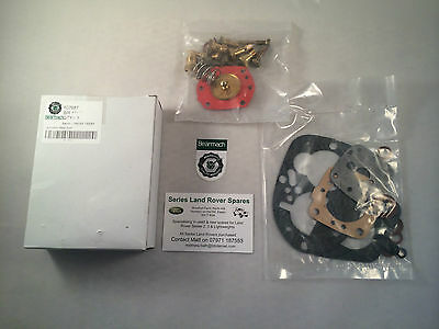 Land Rover Series 2/2a 2¼ Solex Type 40 PA10-5 Carburettor Overhaul Kit Bearmach