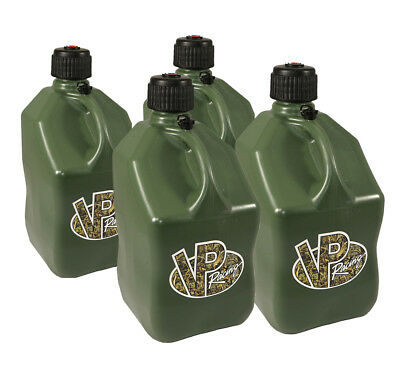 4 VP Racing Camo 5 Gallon Square Fuel Jug/Utility Water Container/Jerry Gas Can
