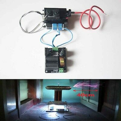 ZVS Tesla Coil Flyback Driver/SGTC/Marx Generator/Jacob's Ladder+ Ignition Coil