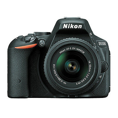 Nikon D5500 Digital SLR Camera With NIKKOR 18-55mm f/3.5-5.6G VR DX Lens NEW