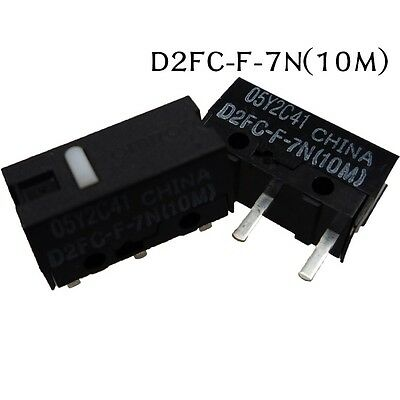 5pcs OMRON Micro Switch D2FC-F-7N (10M) for Mouse Brand New