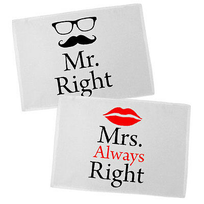 Cuscini Mr Right Mrs Always Right.2 X Mr Mrs Always Right Red Wine Glasses Contemporary Drinking