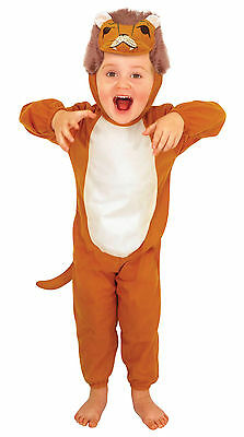 Boys Girls Toddler Kids Lion Fancy Dress Costume Animal 2 - 4 Years Book Day