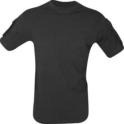 Airsoft Army Style Tactical T-Shirt Special Ops Combat Shirt Viper Black
