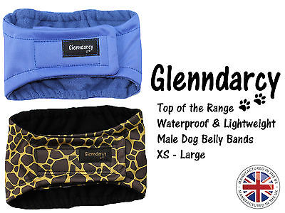 Waterproof Belly Band For Male Dogs / Nappy / Urine Marking / Incontinence