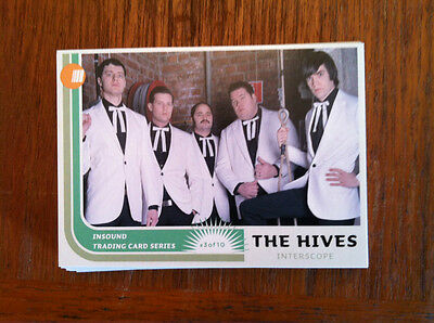 The Hives Promo trading card Rare ( the Strokes, The Virgins, Muse )