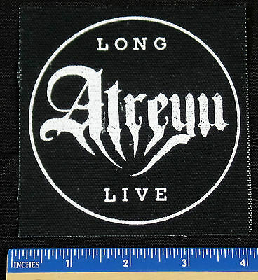 "Long Live Atreyu Sew On Patch Approximately 4""x4"""