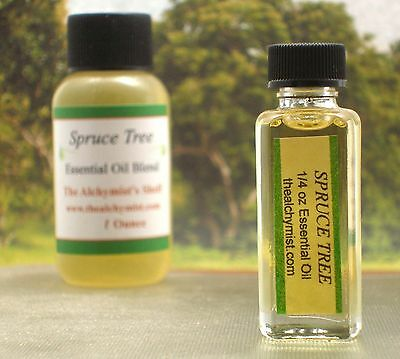 Spruce Tree Essential Oil 1/4 oz Christmas Pine Xmas Yule