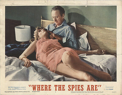 Where the Spies Are 1966 Original Movie Poster Adventure Comedy