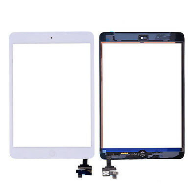 For iPad mini/ iPad mini 2 White Touch Screen Digitizer+ Home Button+ IC Control