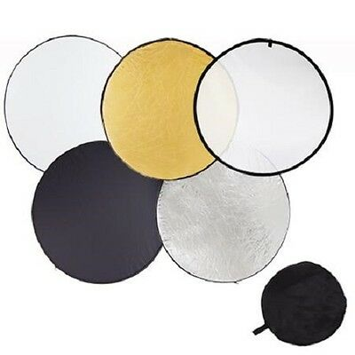 Pro Studio 32-inch / 80cm 5-in-1 Collapsible Multi-Disc Light Reflector Bag