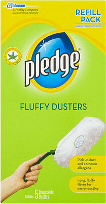 PLEDGE FLUFFY DUSTERS REFILL 5s x 3 PACKS