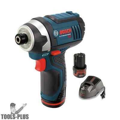 Bosch Tools 12 Volt Max Cordless Litheon Impact Driver PS41-2A New