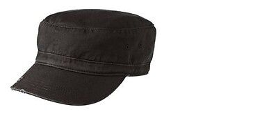 District Women's Distressed Military Hat DT605.