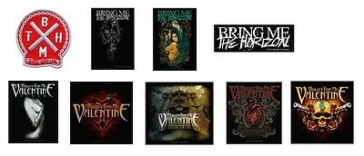 # BRING ME THE HORIZON / BULLET FOR MY VALENTINE - OFFICIAL sew on PATCH patches