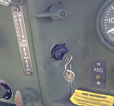 Military Truck M939 Plug &play Keyed Ignition Starter Switch M923A2 M923A1 5-Ton
