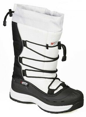 New Ladies Size 8 White Baffin Snogoose Snowmobile Winter Snow Boots Rated -40F