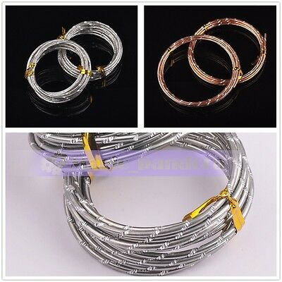 1Roll 12Gauge 2.0mm 2meters Aluminum Jewelry DIY Making Wrap Cord Craft Wire