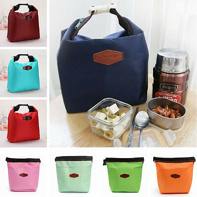 Thermal Waterproof Insulated Lunch Portable Carry Tote Picnic Storage Bag