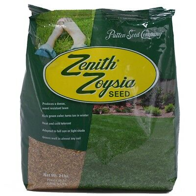 Zenith Zoysia Grass Seed 100% Pure Seeds 6 Lbs.