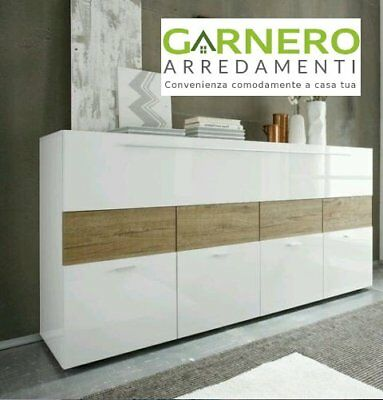 Credenza Primo Line 4 ante madia buffet base moderna