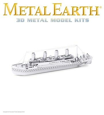 Fascinations Metal Earth Titanic Ship Laser Cut 3D Model