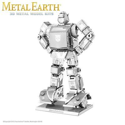 Fascinations Metal Earth Bumblebee Transformers Laser Cut 3D Model