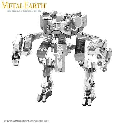 Fascinations Metal Earth Mantis HALO Laser Cut 3D Model