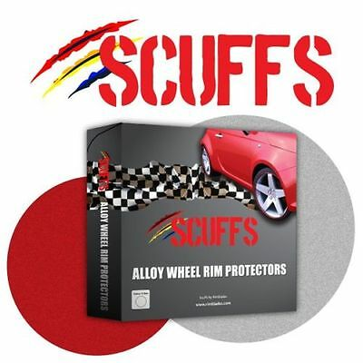 Red Scuffs by Rimblades Alloy Wheel Rim Protectors/ Rim Guards/Rim tape