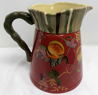 Tracy Porter Octavia Hill Garden Collection Large Pitcher Retired 96 Oz