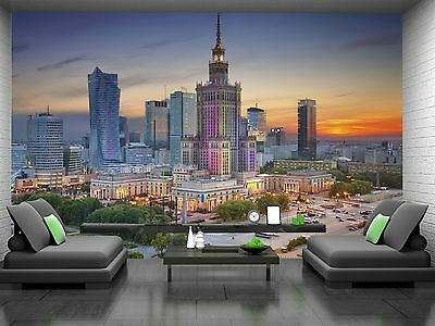 Warsaw  Wall Mural Photo Wallpaper GIANT DECOR Paper Poster Free Paste