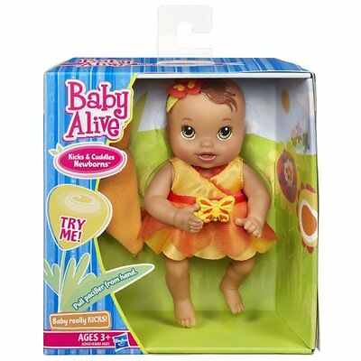 Ethnic Kicks Amp Cuddles Newborns Doll Baby Alive Really
