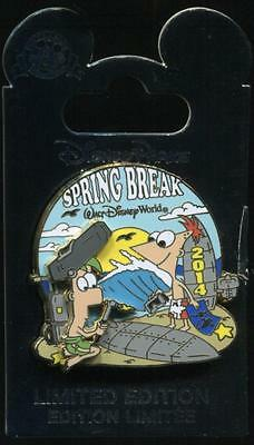 WDW Spring Break 2014 Phineas and Ferb LE Disney Pin 99952