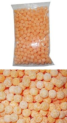 Bulk Lot 2kg  x Lagoon Fizzoes Orange Bag Candy Lollies Buffet Sweets Party New