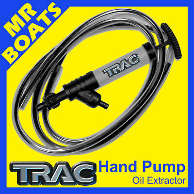 Trac Oil Fluid Extractor Hand Pump - Self Priming - Transfer Boat Free Postage