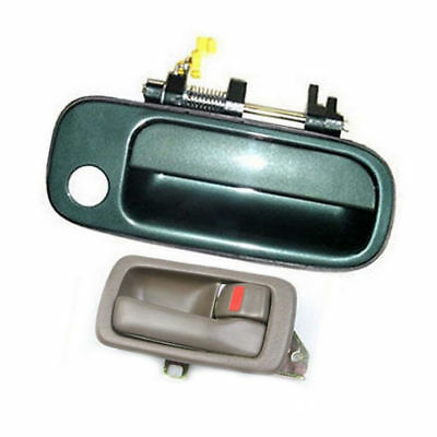 B397 For Toyota Camry Outside Door Handle Green 6P2 Right 92 93 94 95 96