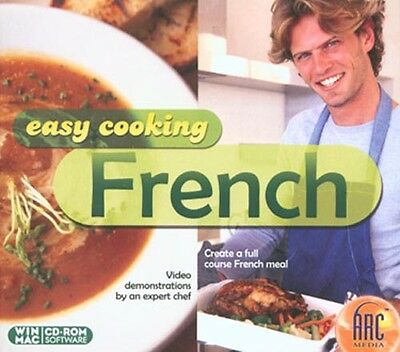 Easy Cooking: French - Easy-To-Follow Video Demos Pc / Mac Software Brand New