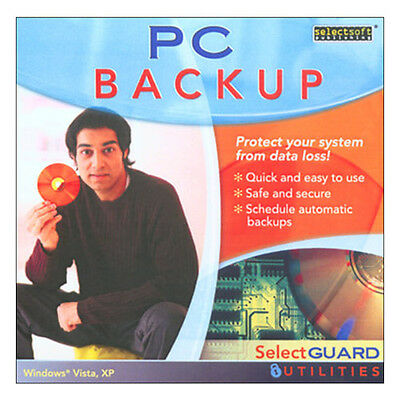 PC Backup  Pc Software Utility Brand New Windows Vista